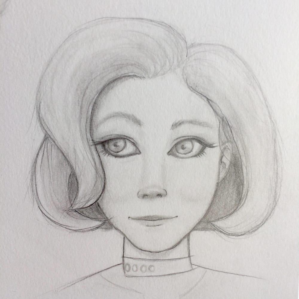 Character Workshop: Pencil Portrait - image 1 - student project