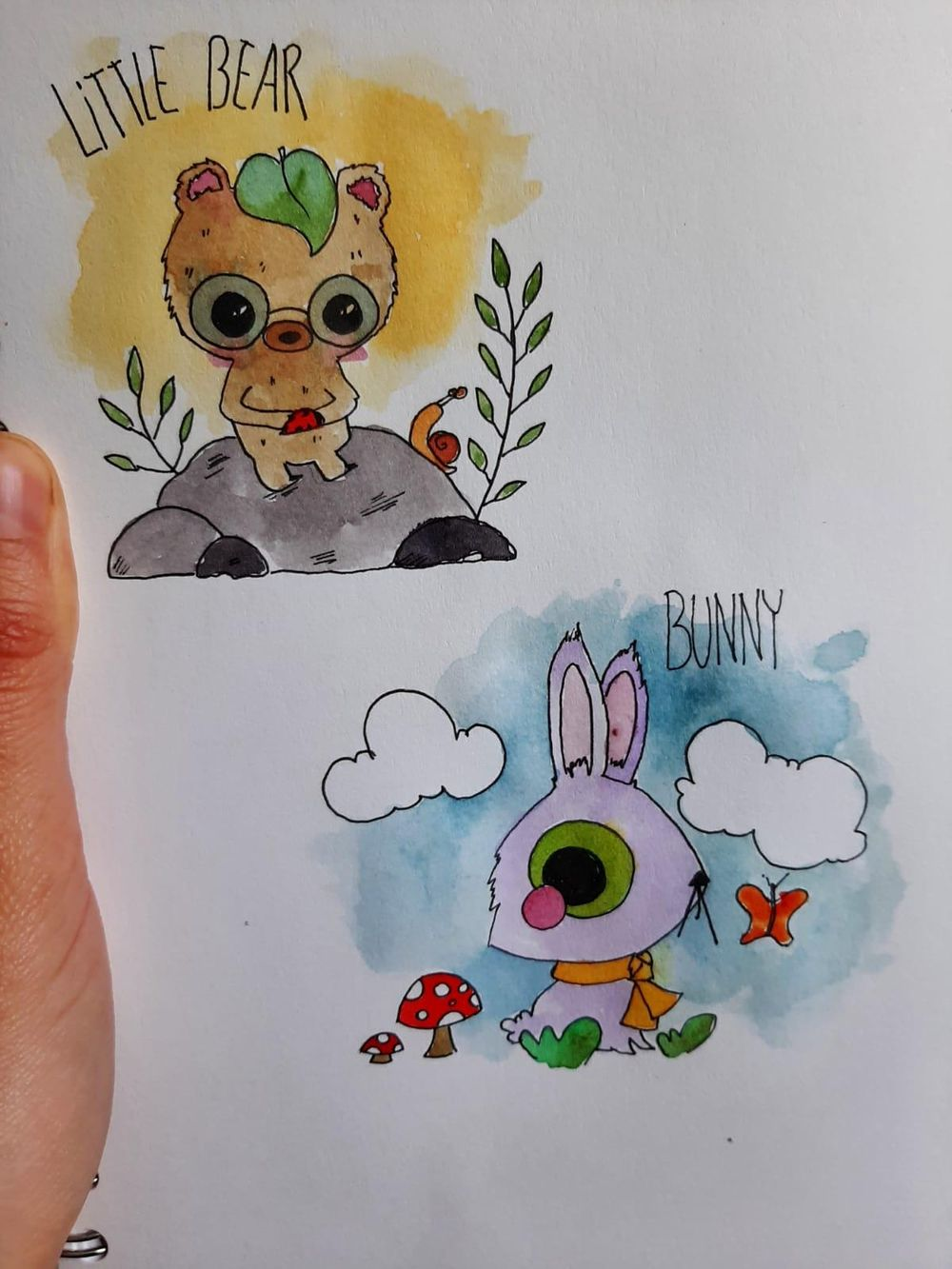 Cute animials - image 3 - student project