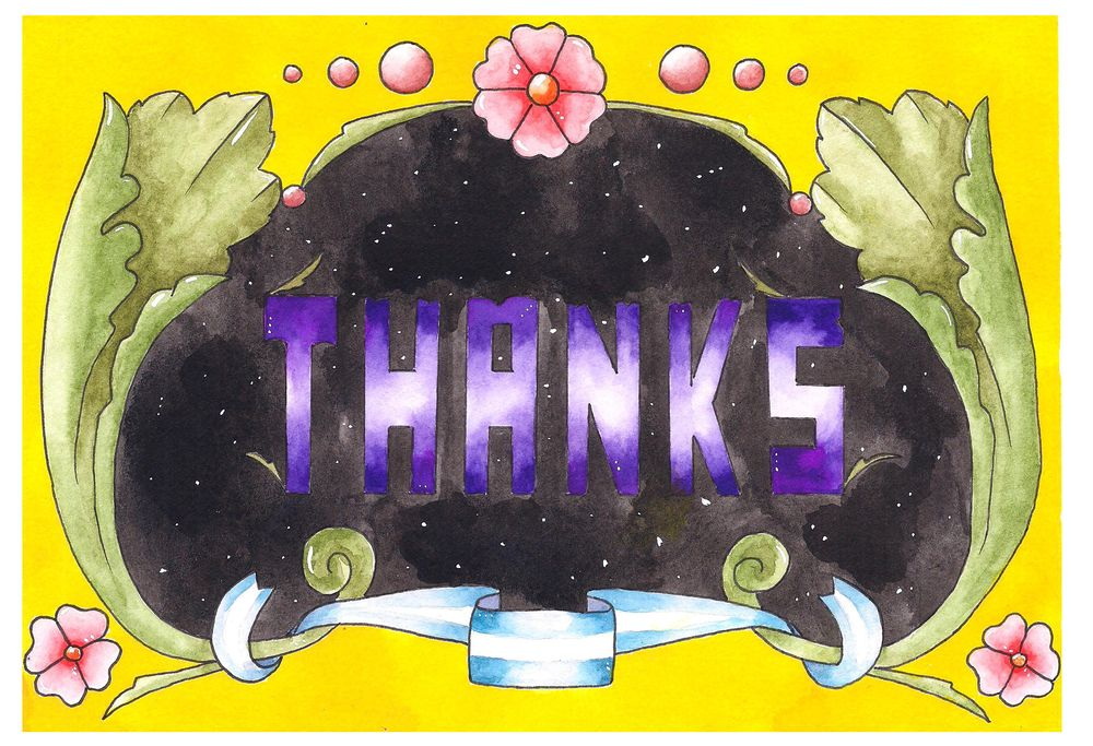 Greeting card - image 1 - student project