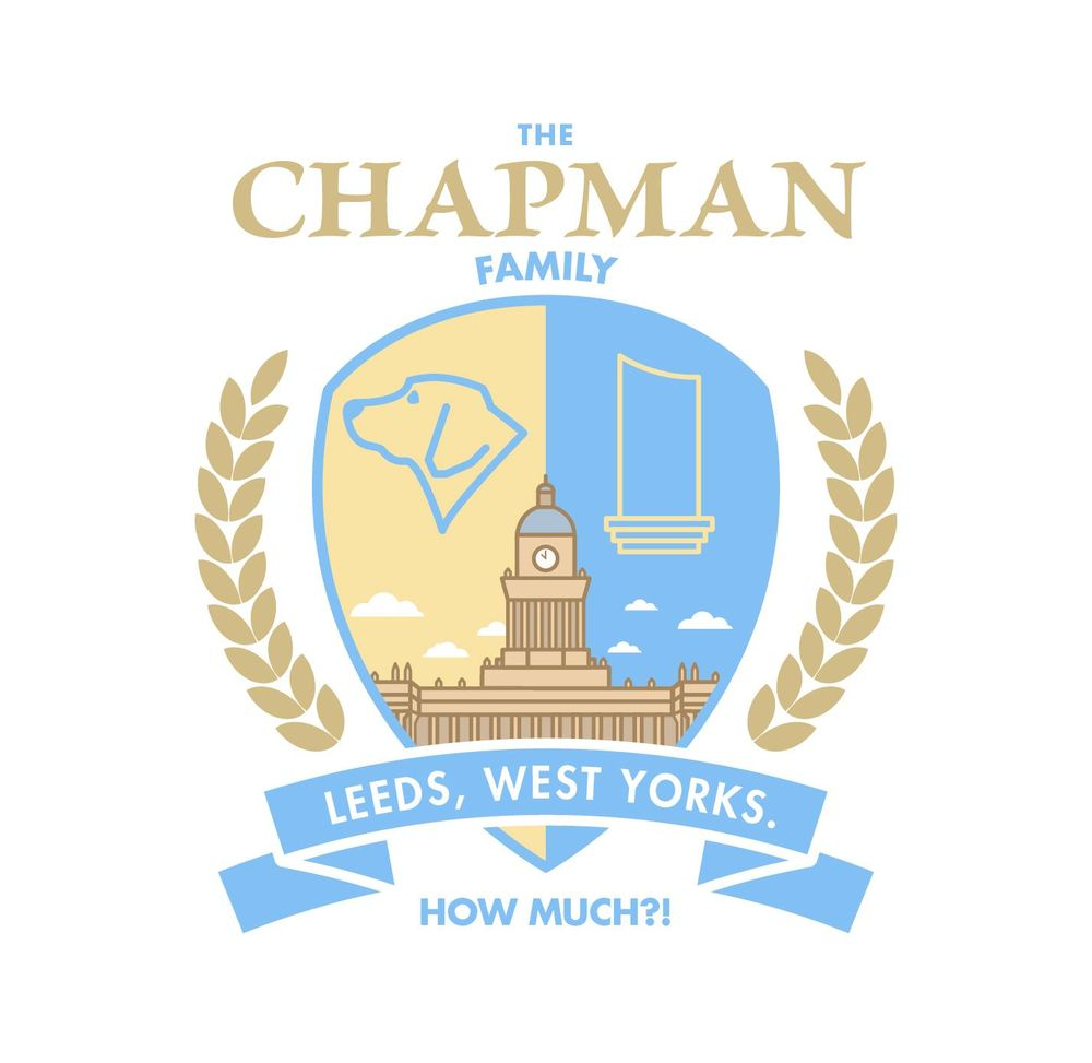 Chapman Family Crest - image 1 - student project