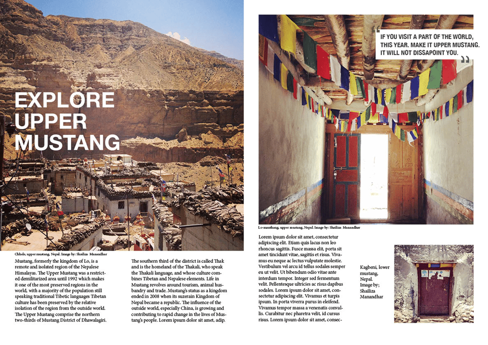 Explore Upper Mustang - image 1 - student project