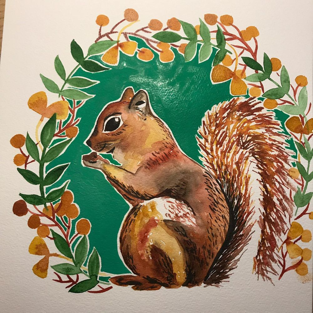 Squirrel, and a horse, and a reindeer! - image 1 - student project
