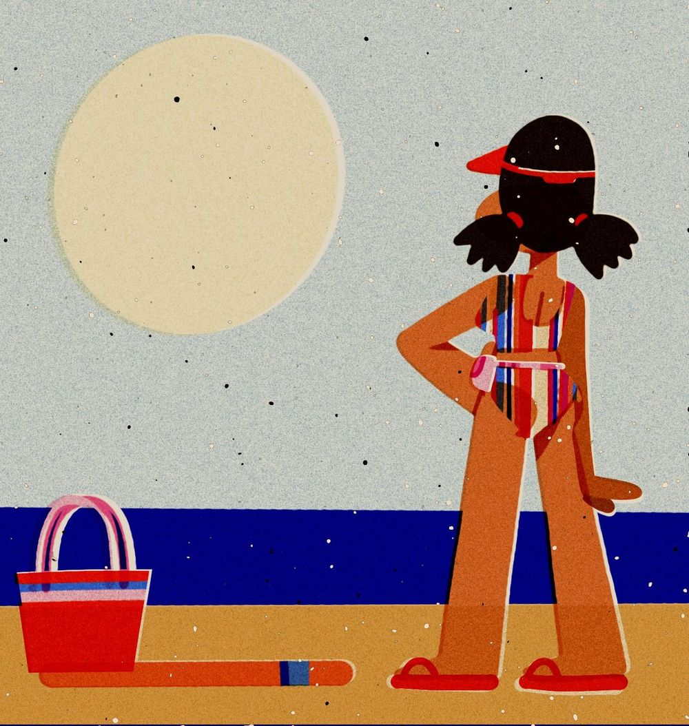 Beach Day - image 1 - student project