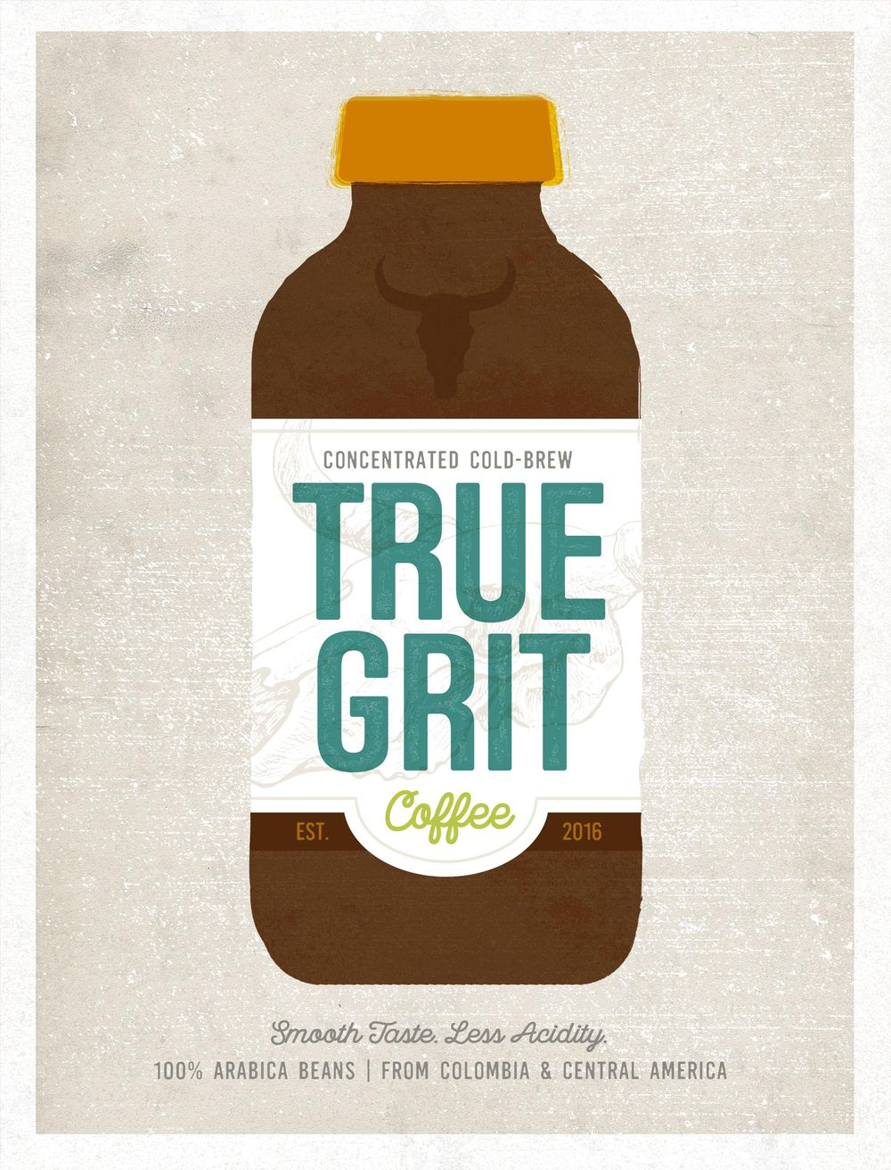 True Grit Coffee - image 2 - student project