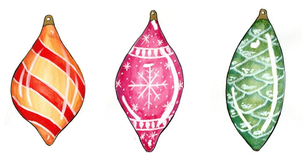 Christmas Ornaments Tags - image 4 - student project
