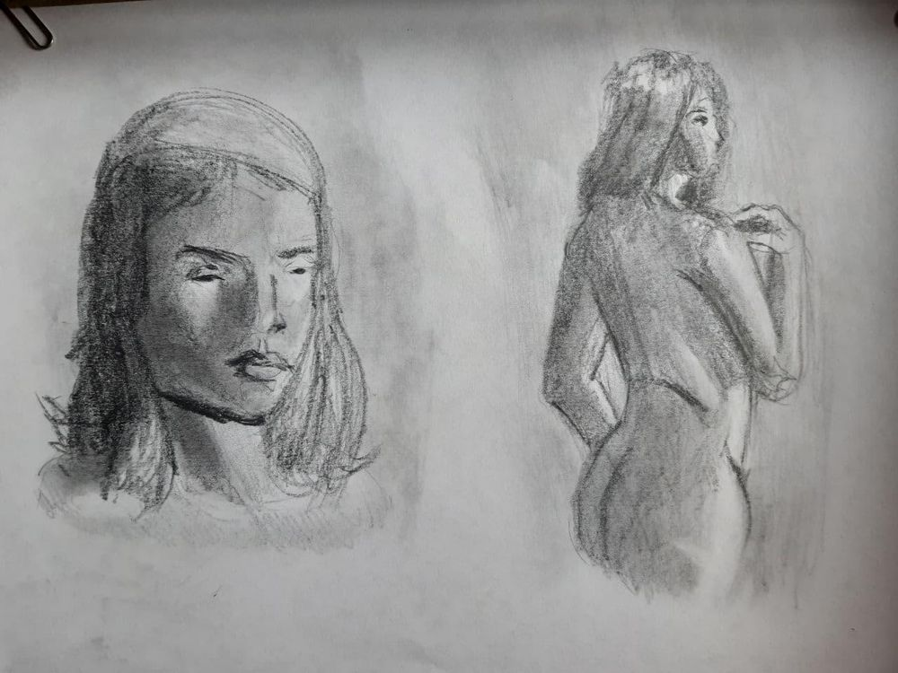 Light and Shadow Timed Assigment + Digital Sketch Practice - image 1 - student project