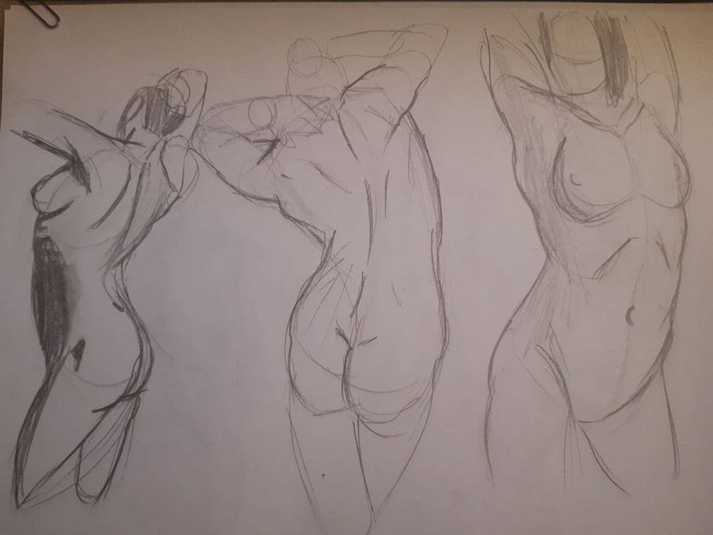 Torso Time Assigment + Practice Sketch - image 1 - student project