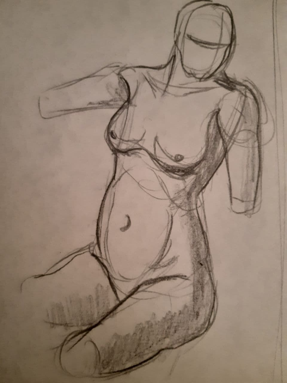 Torso Time Assigment + Practice Sketch - image 4 - student project