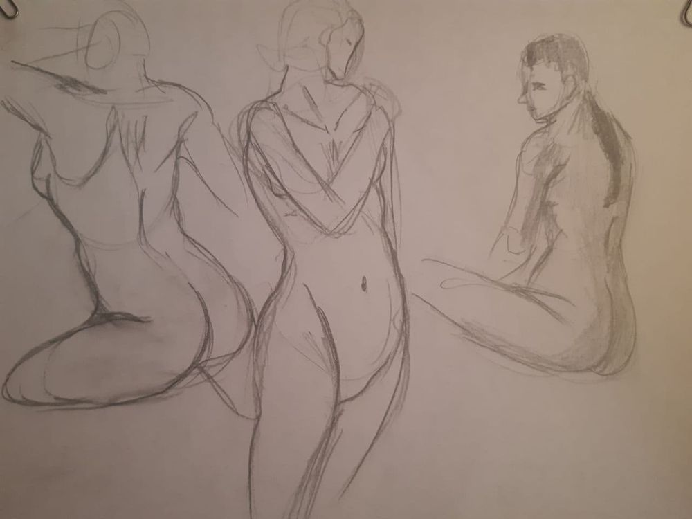 Torso Time Assigment + Practice Sketch - image 3 - student project