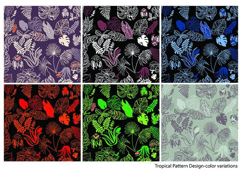 Tropical Foliage - image 4 - student project