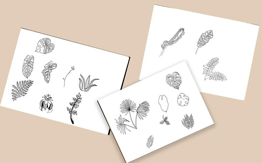 Tropical Foliage - image 2 - student project