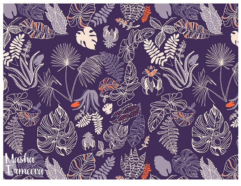 Tropical Foliage - image 5 - student project