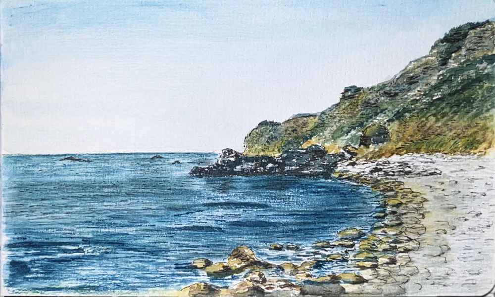 Avalon Cove (Painting Landscapes) - image 3 - student project