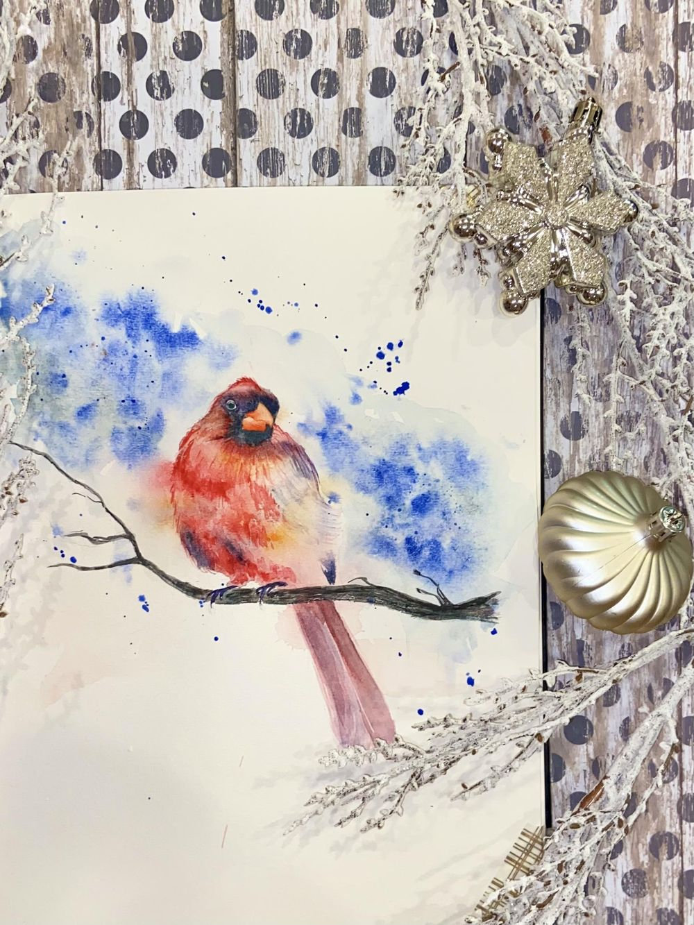 Winter birds - image 2 - student project
