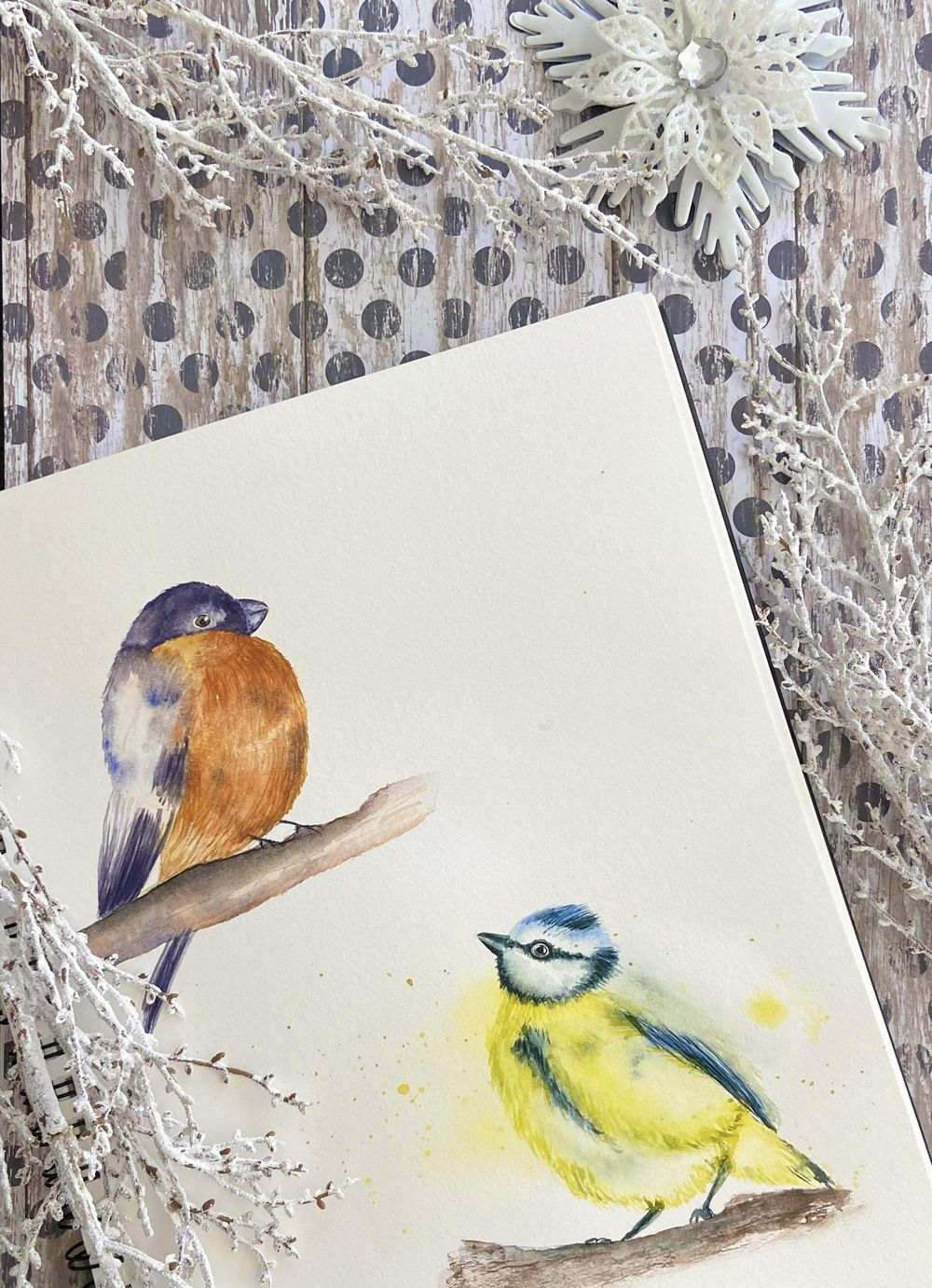 Winter birds - image 1 - student project