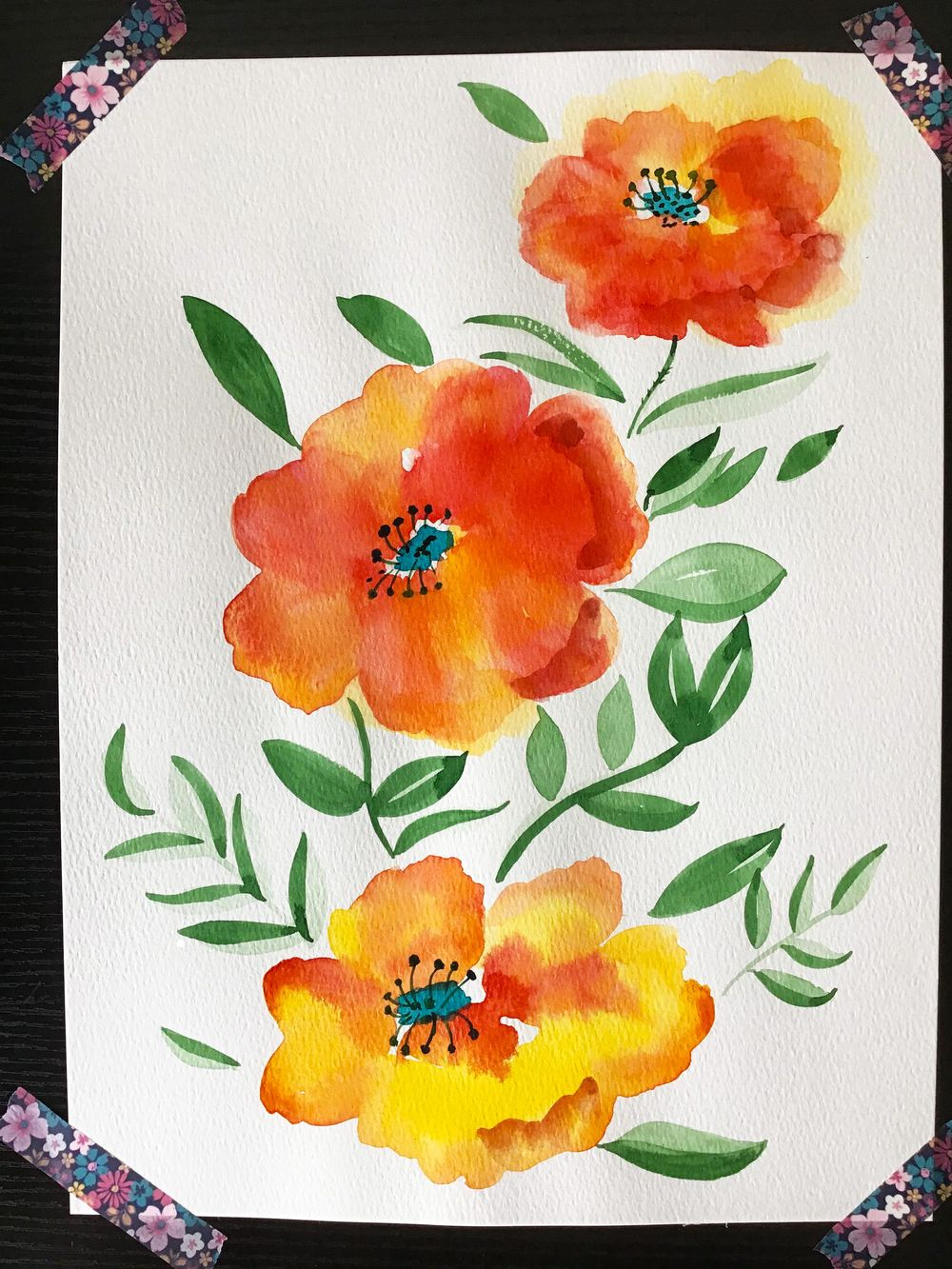 flowers and mushrooms from Anna Sokolova class - image 1 - student project