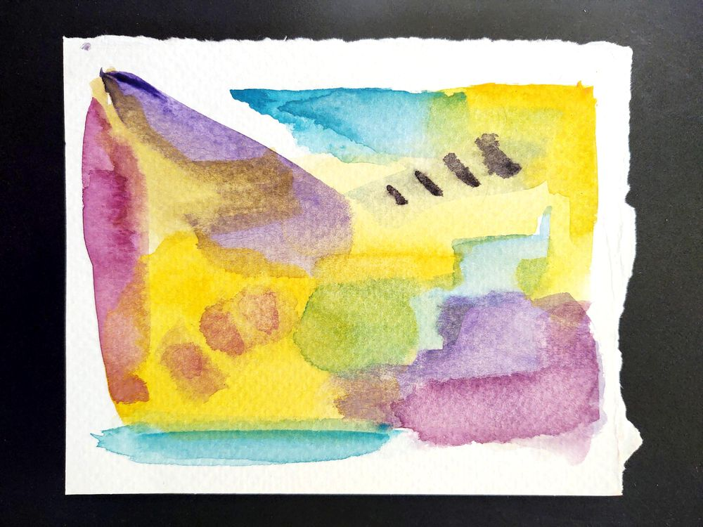 Abstract Watercolor - image 2 - student project