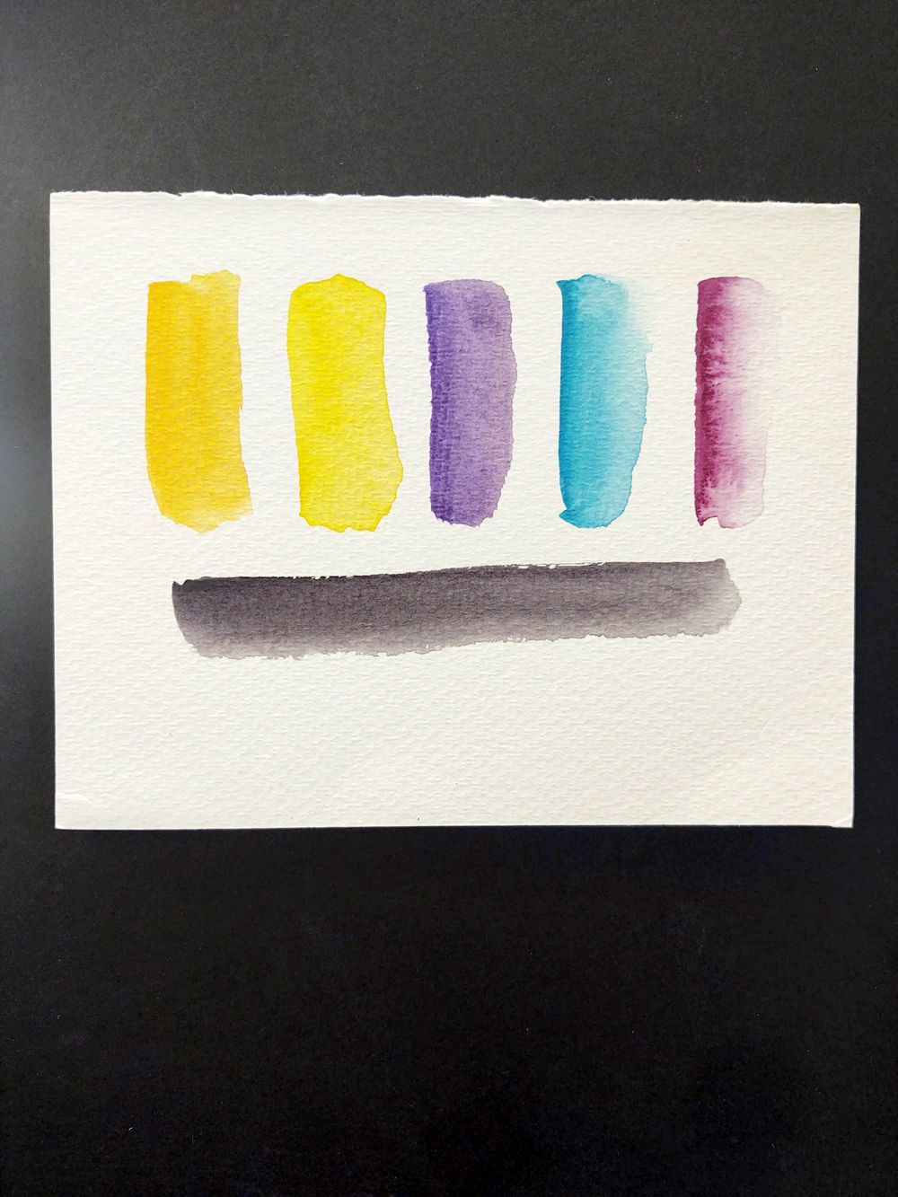 Abstract Watercolor - image 3 - student project
