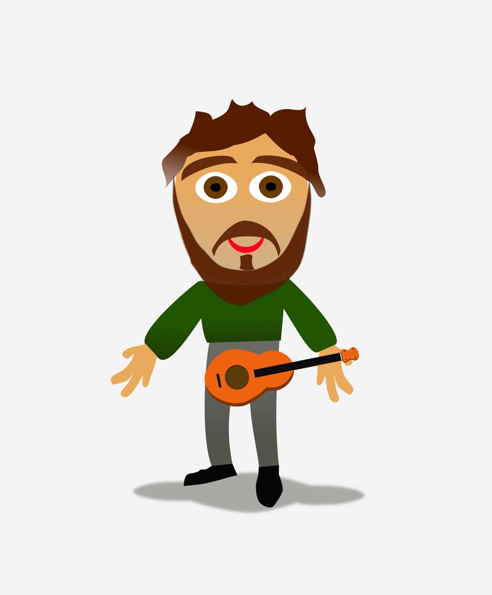 Me 'n' my ukulele - image 1 - student project