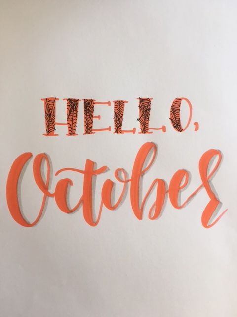 Hello, October - image 3 - student project