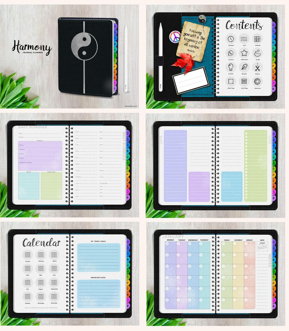 Harmony Journal Planner - image 3 - student project