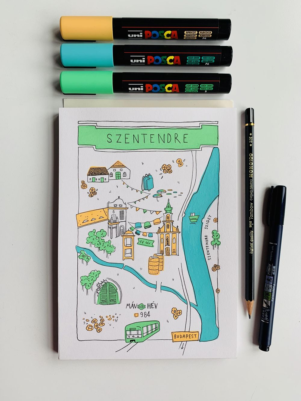 Map of Szentendre, Hungary - image 3 - student project