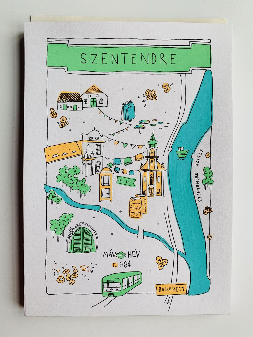Map of Szentendre, Hungary - image 1 - student project