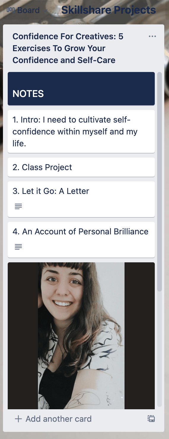 2021: Creating my confidence kit - image 1 - student project