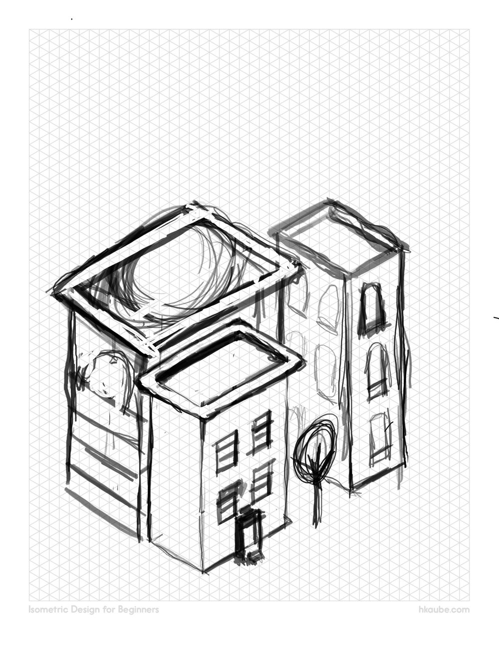 Isometric Buildings - image 1 - student project