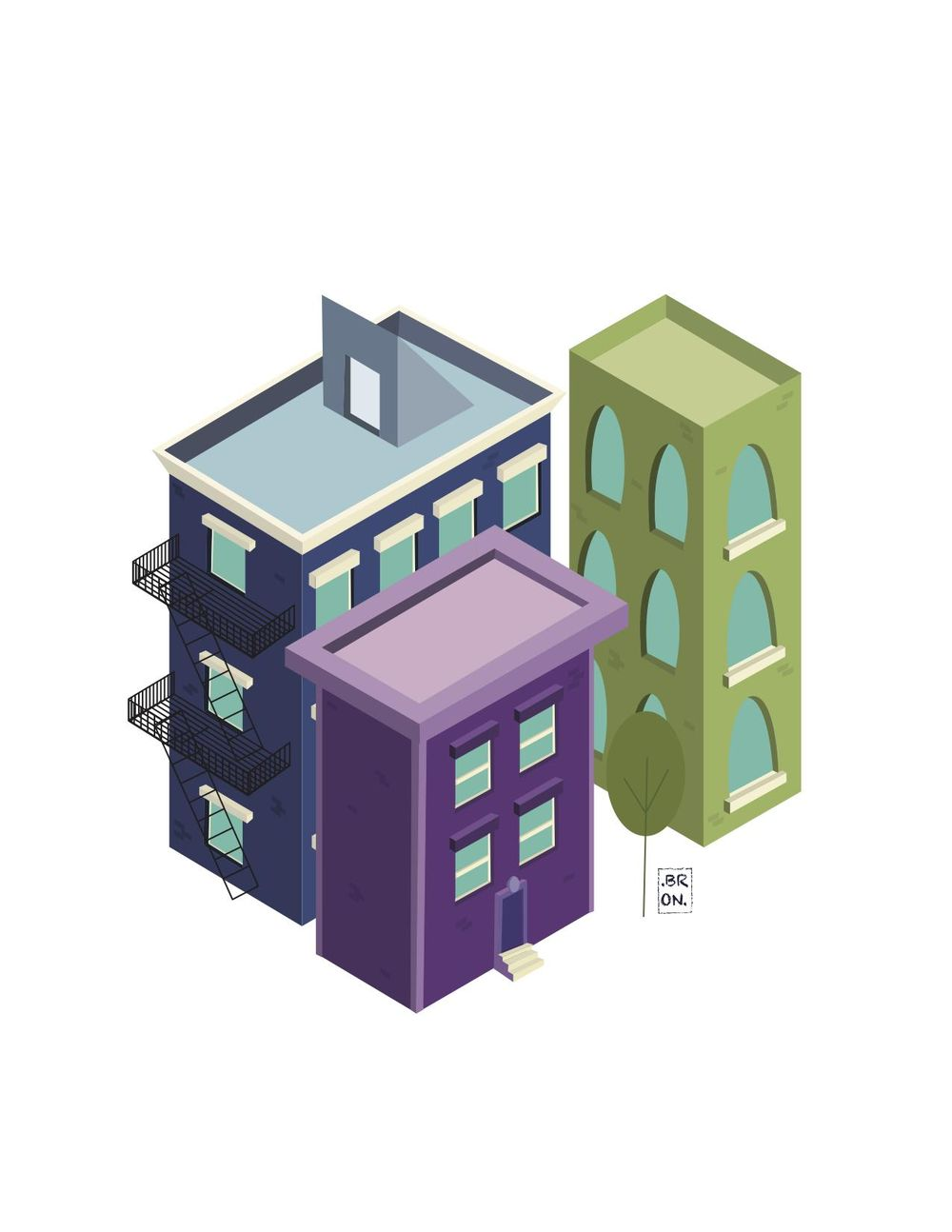 Isometric Buildings - image 3 - student project