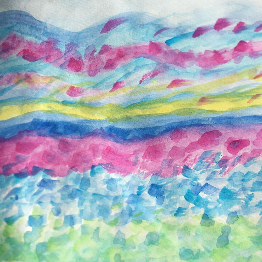Intuitive painting - image 1 - student project