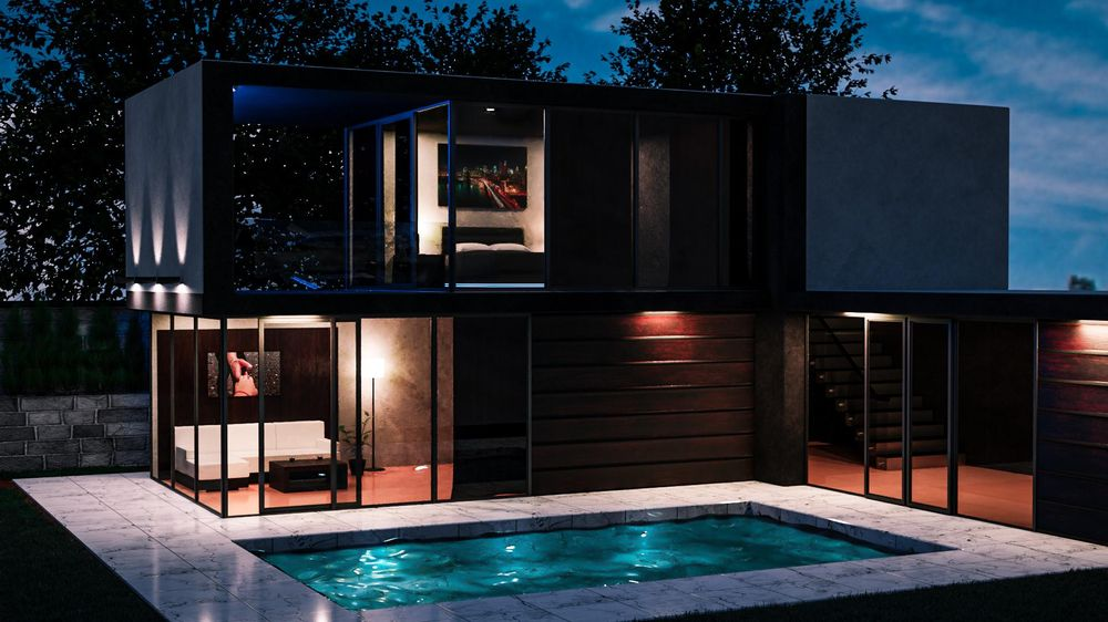 Modern_House - image 1 - student project