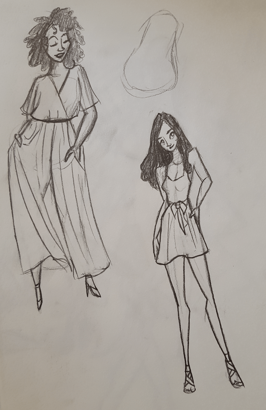 Stylized Gals - image 3 - student project