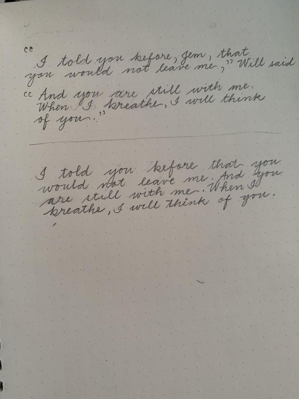 Maia- Handwriting Improvement Journey - image 6 - student project
