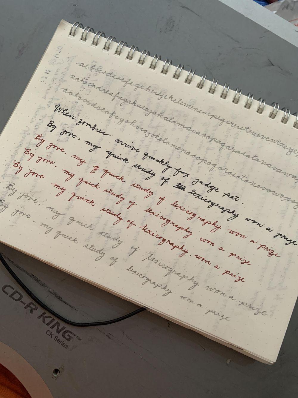 Maia- Handwriting Improvement Journey - image 2 - student project
