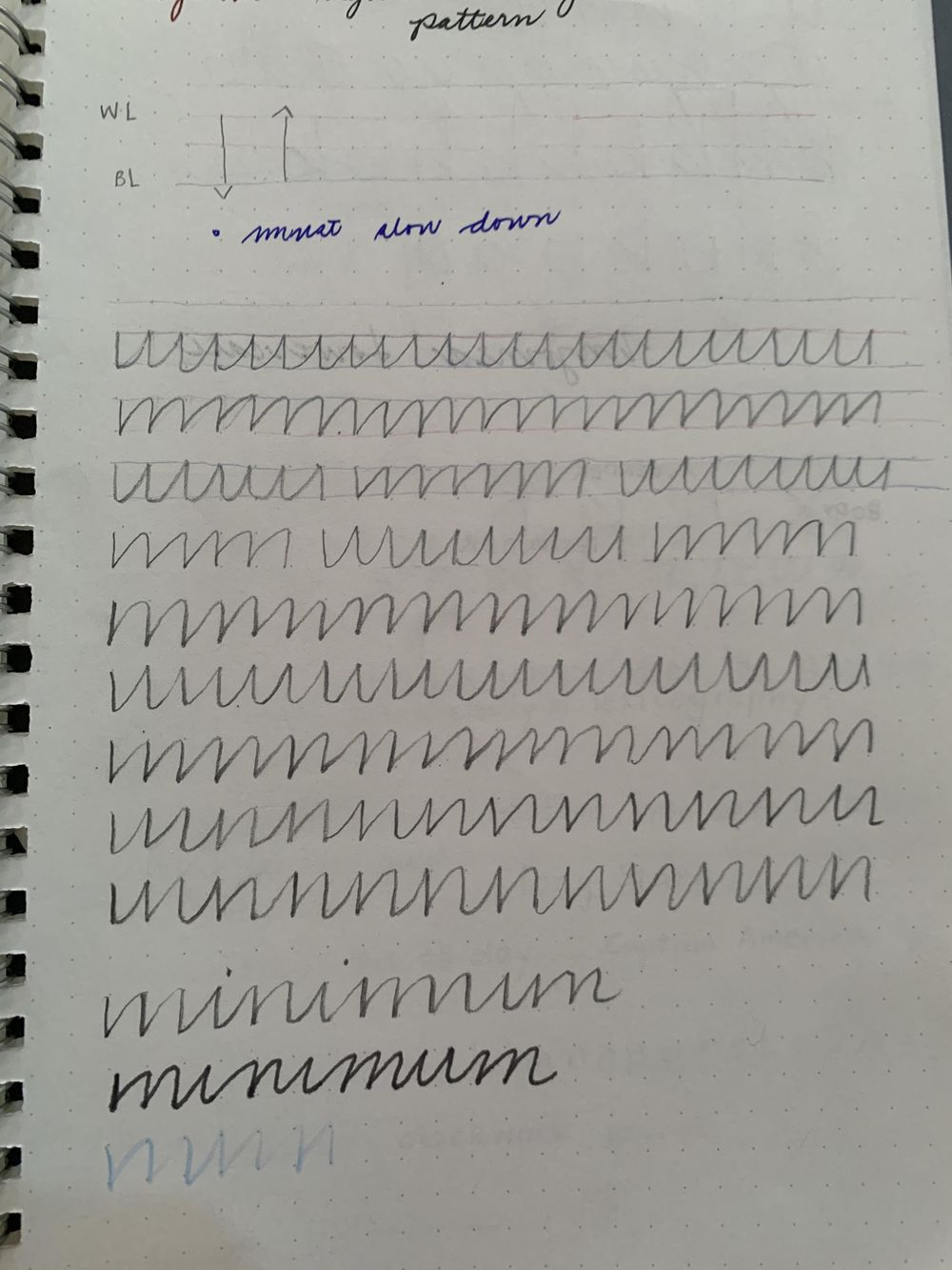 Maia- Handwriting Improvement Journey - image 3 - student project