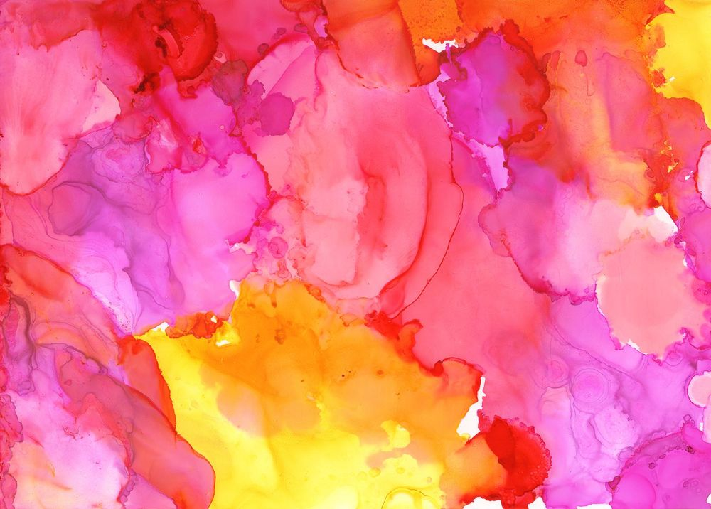 Alcohol Ink Artwork - image 1 - student project
