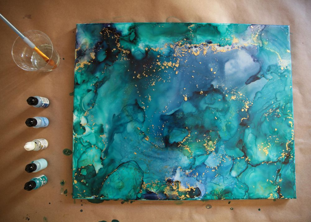 Alcohol Ink Artwork - image 4 - student project