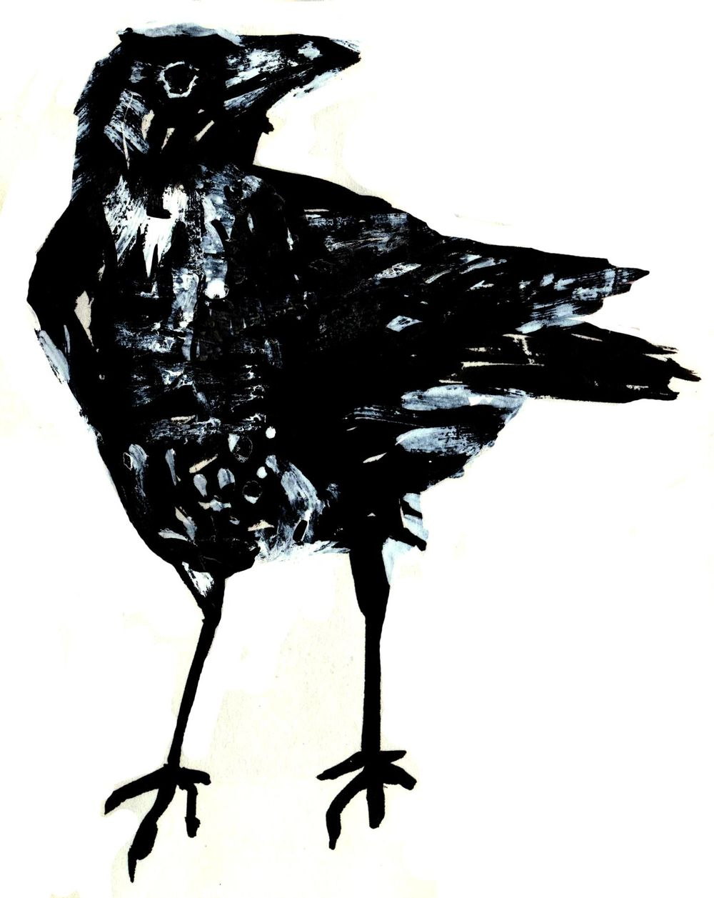 Three crows - image 4 - student project
