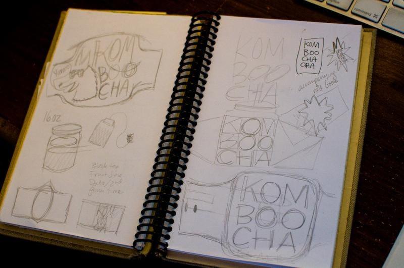 Kombucha label - image 8 - student project
