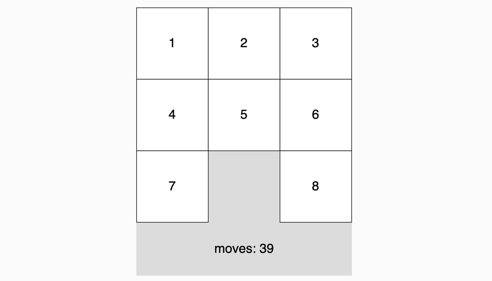 Sliding Puzzle Example - image 1 - student project