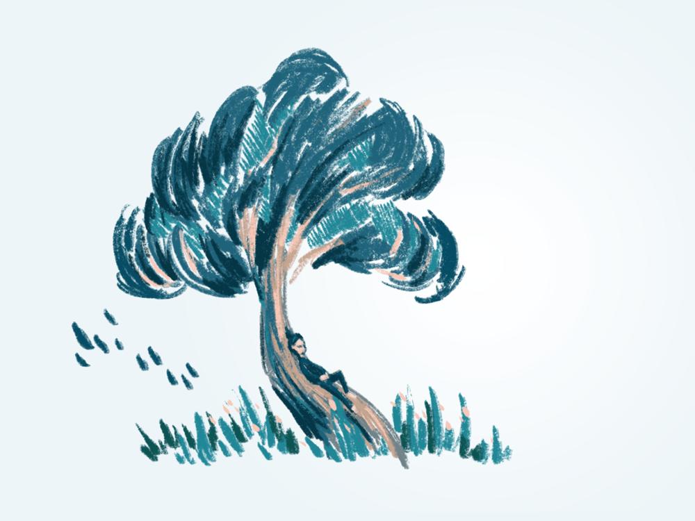 Idleness Illustration - image 1 - student project