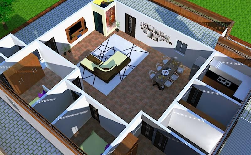 Residential interiors - image 1 - student project
