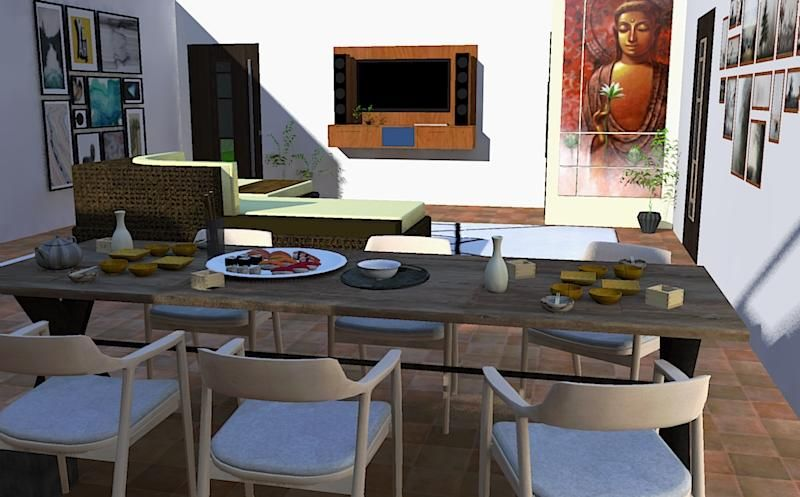Residential interiors - image 3 - student project