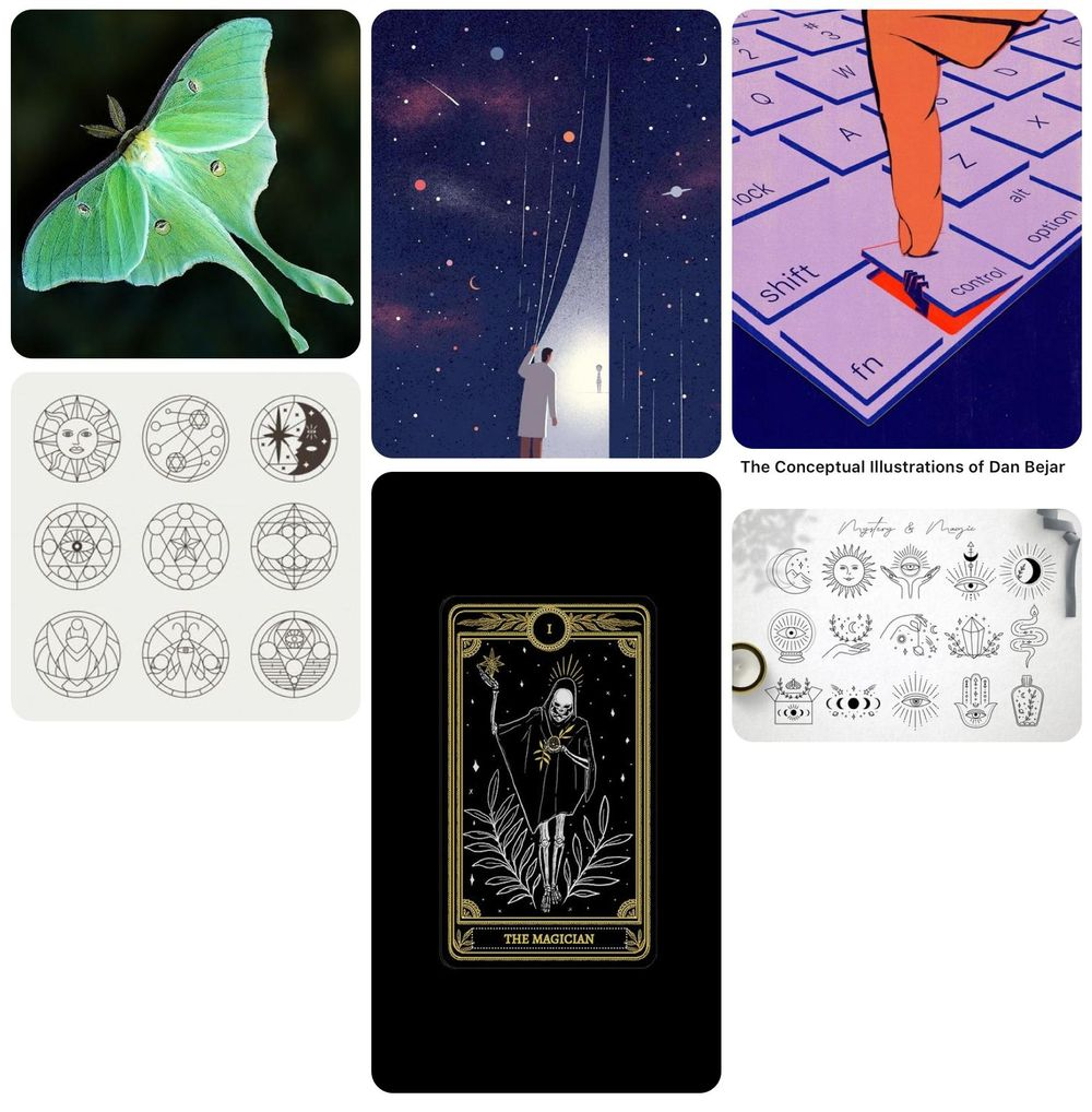 Mystical Moth - image 6 - student project