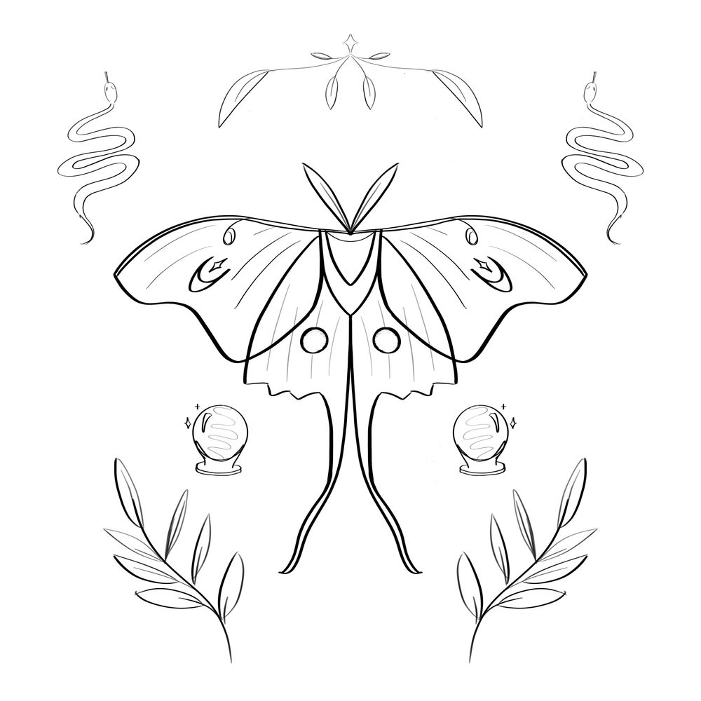 Mystical Moth - image 7 - student project