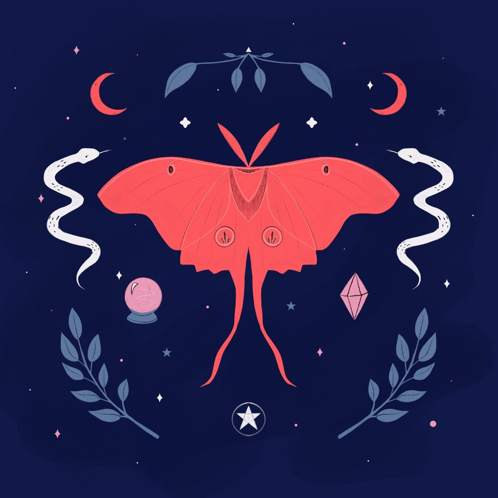 Mystical Moth - image 1 - student project