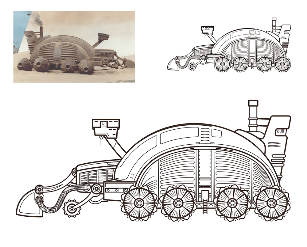 Dune Spice Harvester - image 1 - student project