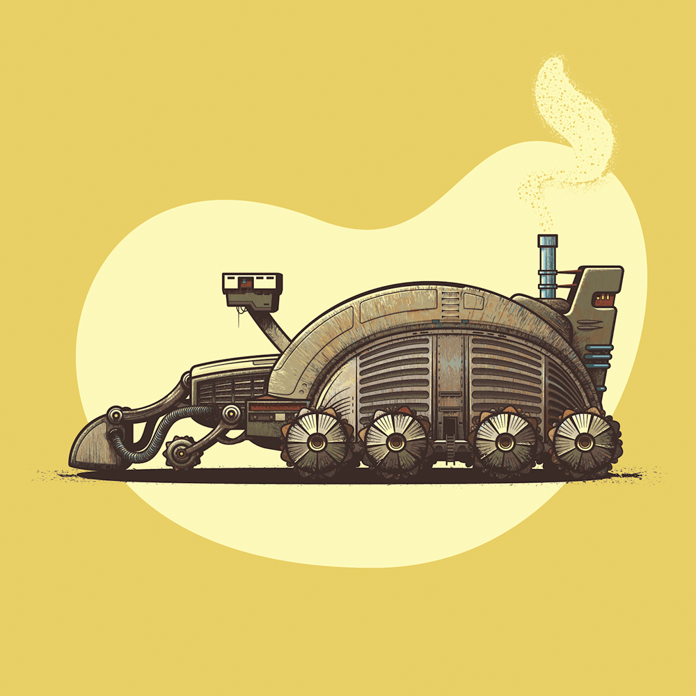 Dune Spice Harvester - image 6 - student project