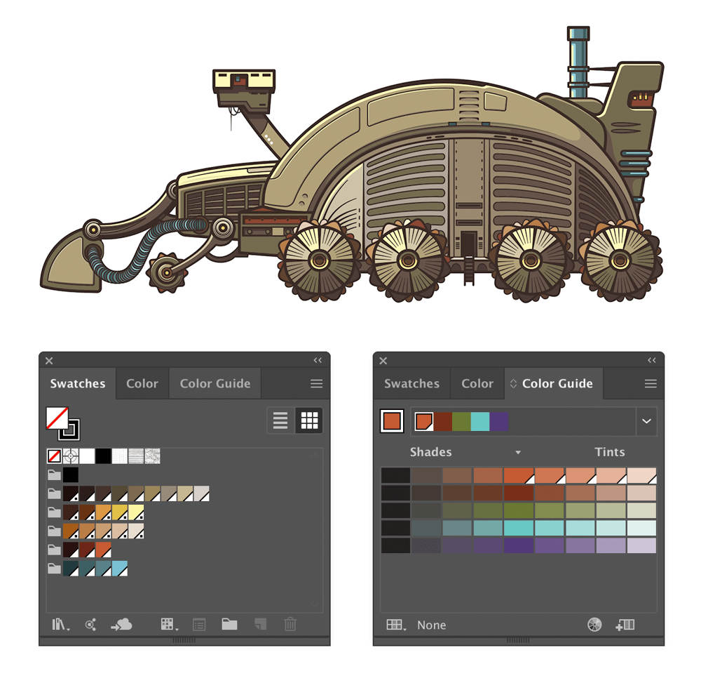 Dune Spice Harvester - image 2 - student project